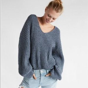 Express Oversize Chenille Sweater